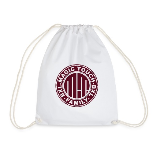 magic touch circle2 - Drawstring Bag