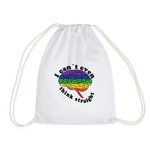 Ich kann nicht einmal klar denken | LGBT - Turnbeutel