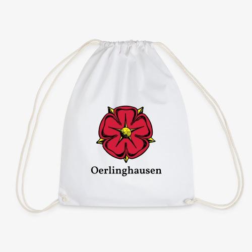 Lippische Rose mit Unterschrift Oerlinghausen - Turnbeutel