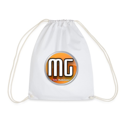 muddy gamer branding - Drawstring Bag