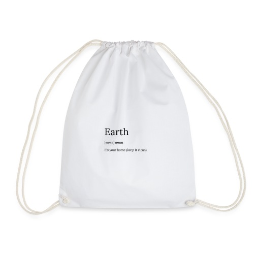 Earth - Drawstring Bag