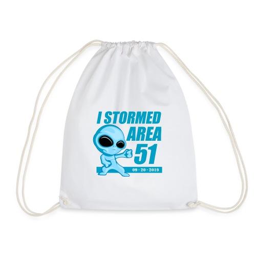 I Stormed Area 51 - Drawstring Bag