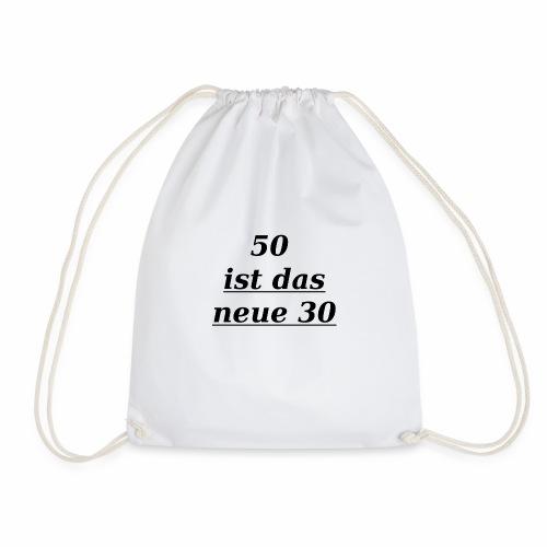 T-Shirt zum 50. Geburtstag Herren 30 - Turnbeutel