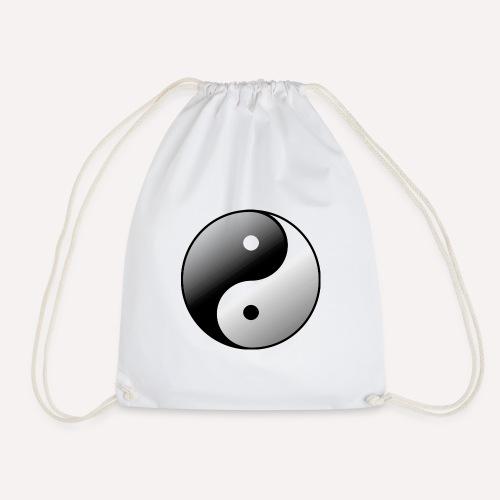 Yin Yang Symbol balance Print Sign - Drawstring Bag