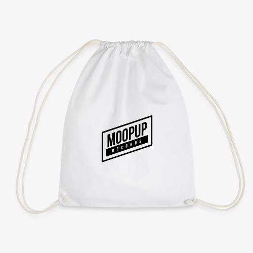 Moopup Records Merchandising (Black Logo) - Mochila saco