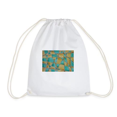 Watercolour Art painting - Drawstring Bag