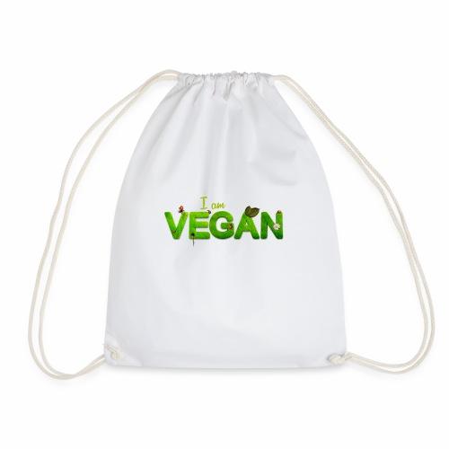 i am vegan - Sac de sport léger