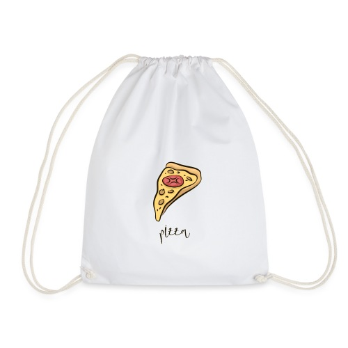 pizza, pizzeria, pizzalover, pizzaitaliana - Drawstring Bag