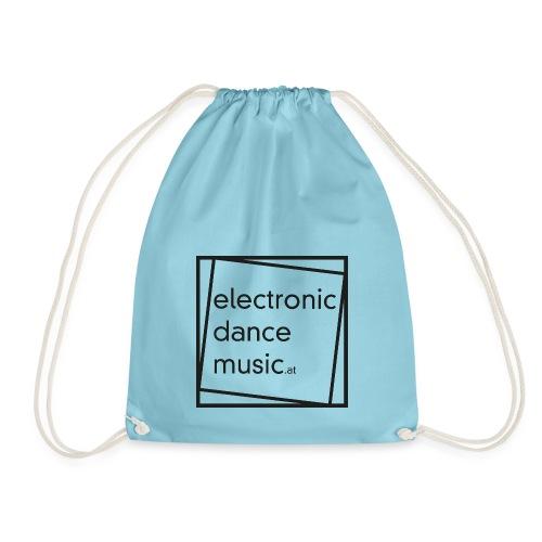 electronicdancemusic.at schwarz - Turnbeutel