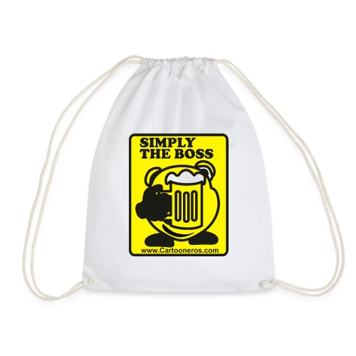 Simply the Boss - Drawstring Bag