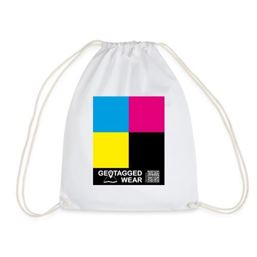 Square CMYK #1 - CMYK Collection - Turnbeutel