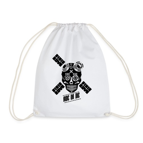 skull riding ride or die - Sac de sport léger
