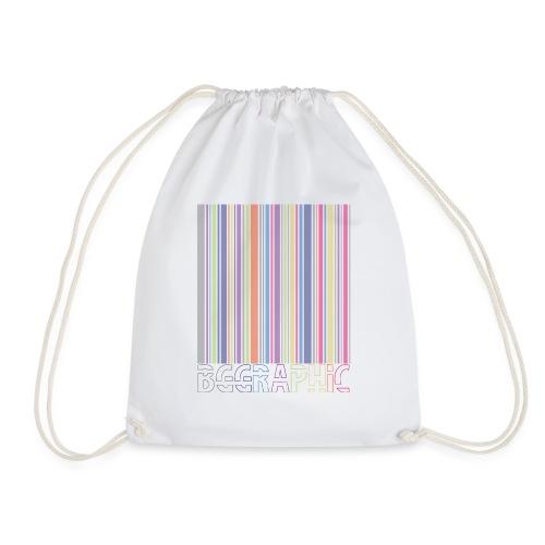Bar code - Drawstring Bag