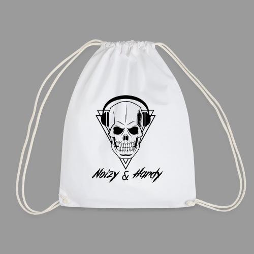 Noizy & Hardy schwarzes Logo - Turnbeutel