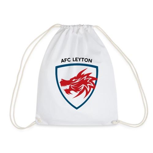 AFC Leyton Logo (Black) - Drawstring Bag