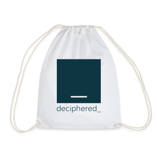 Deciphered Swag - Drawstring Bag