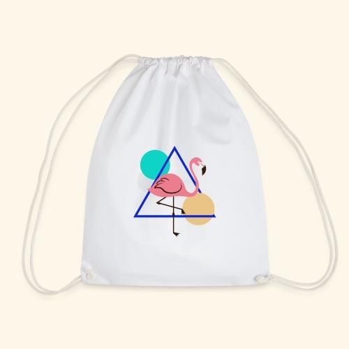 Geometric - Drawstring Bag