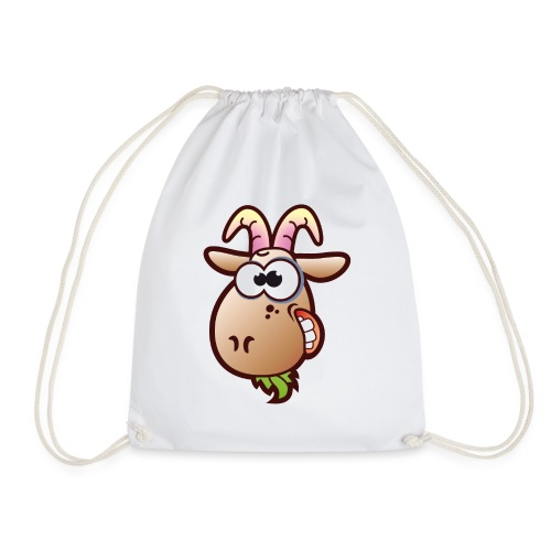 Goat Head - Drawstring Bag