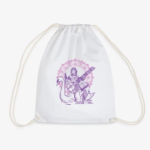 SARASWATI Integrales Faszien Yoga rosa/lila - Turnbeutel