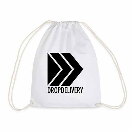 DropDelivery Main Collection - Black - Turnbeutel