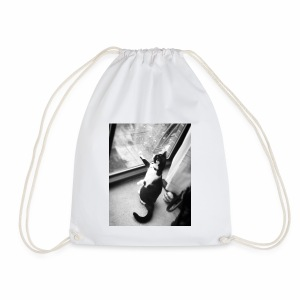 pussy cat - Drawstring Bag