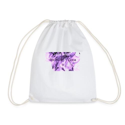 I just wanT Bitches & Coca MoCa t'shirt - Drawstring Bag
