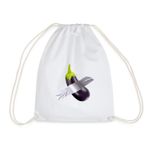 Eggplant art - Sacca sportiva
