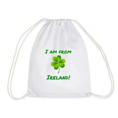 I am from Ireland - Drawstring Bag