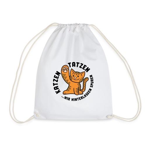 Katzentatzen Logo - Turnbeutel