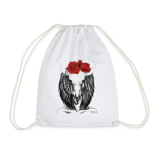 Zodiac Signs -Taurus - Drawstring Bag