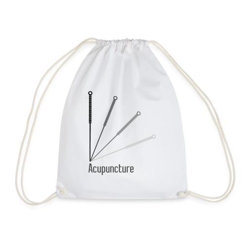 Acupuncture Eventail (logo noir) - Sac de sport léger