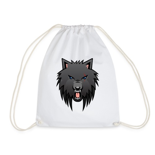 apollo wolf - Drawstring Bag