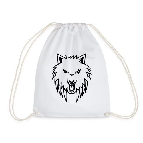 Apollo Wolf Transparent - Drawstring Bag
