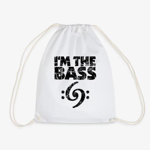 I'm the Bass 69 Vintage Black - Turnbeutel