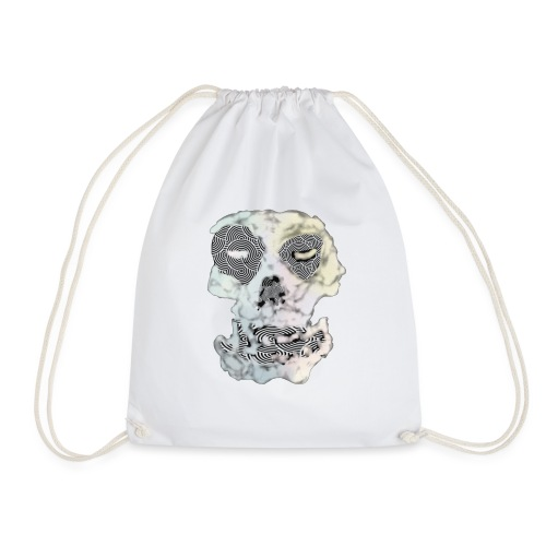 Weird Out Skull - Gymnastikpåse