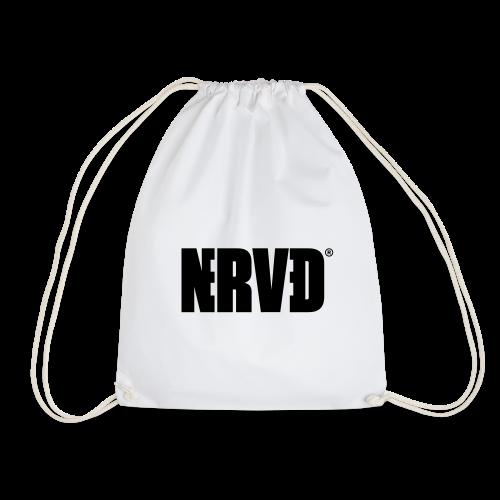Official Nerved® Logo Black - Drawstring Bag