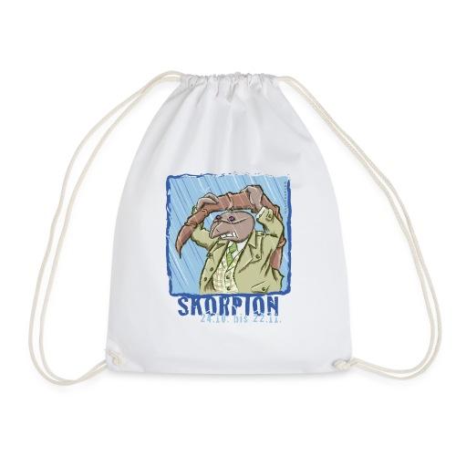 Sternzeichen - Skorpion - Turnbeutel