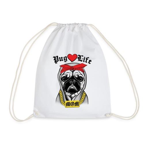 Pug Life - Drawstring Bag