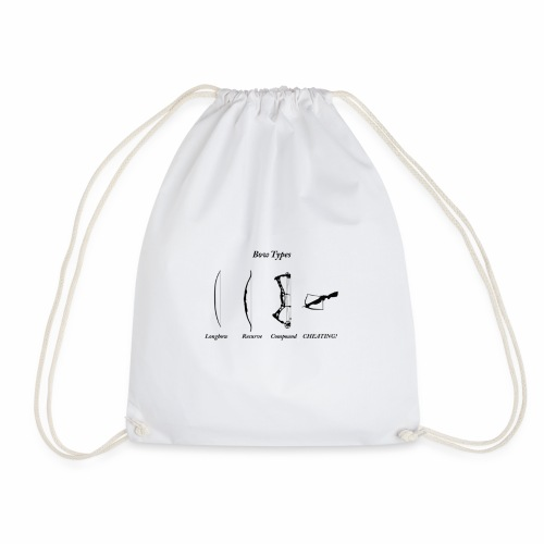 Bow Types - Drawstring Bag