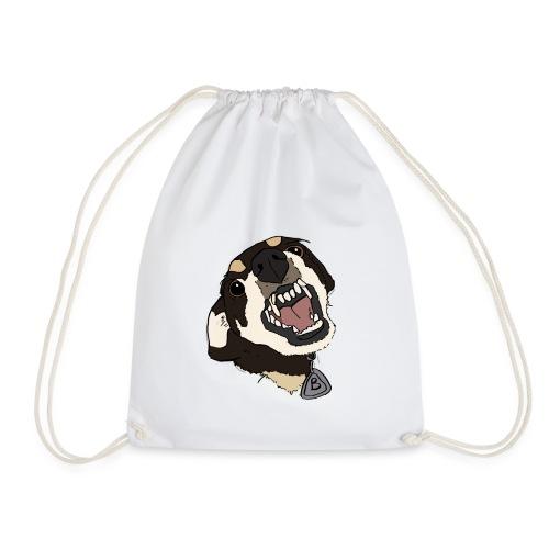 angry doggo - Turnbeutel