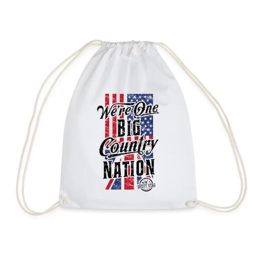 Country Nation Ladies Scoop Tee - Drawstring Bag