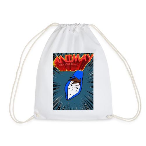 Animay: Toatally100% Legit - merch - Drawstring Bag
