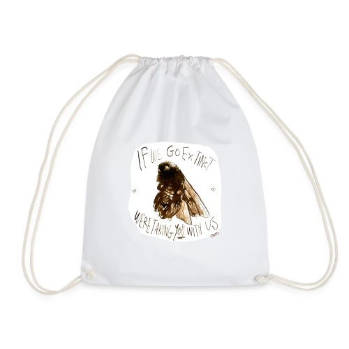 the bee - Drawstring Bag