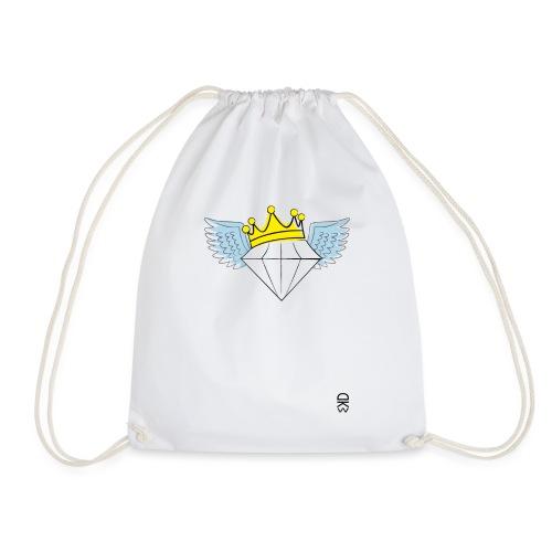 King Diamond Wings - Drawstring Bag