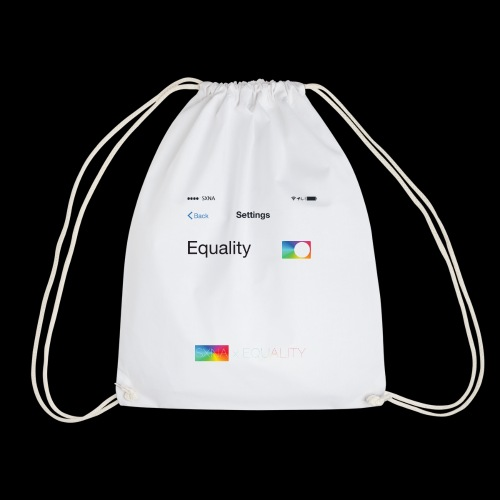 SXNA x EQUALITY: Update your Settings - Turnbeutel