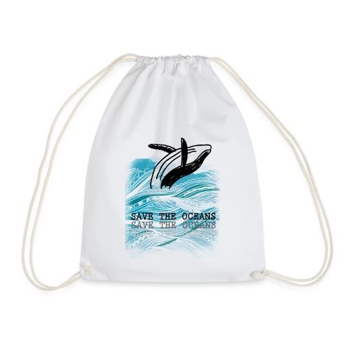SAVE THE OCEANS - Turnbeutel