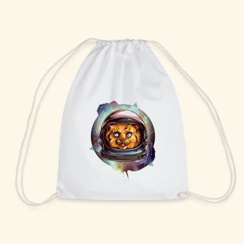 Space Katze - Turnbeutel