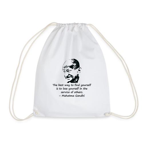 Find Yourself - Drawstring Bag