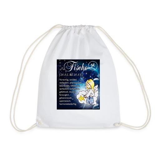 Schutzengel-Sternzeichen-Tasse Fische - Turnbeutel