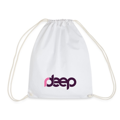 Collection White - Drawstring Bag